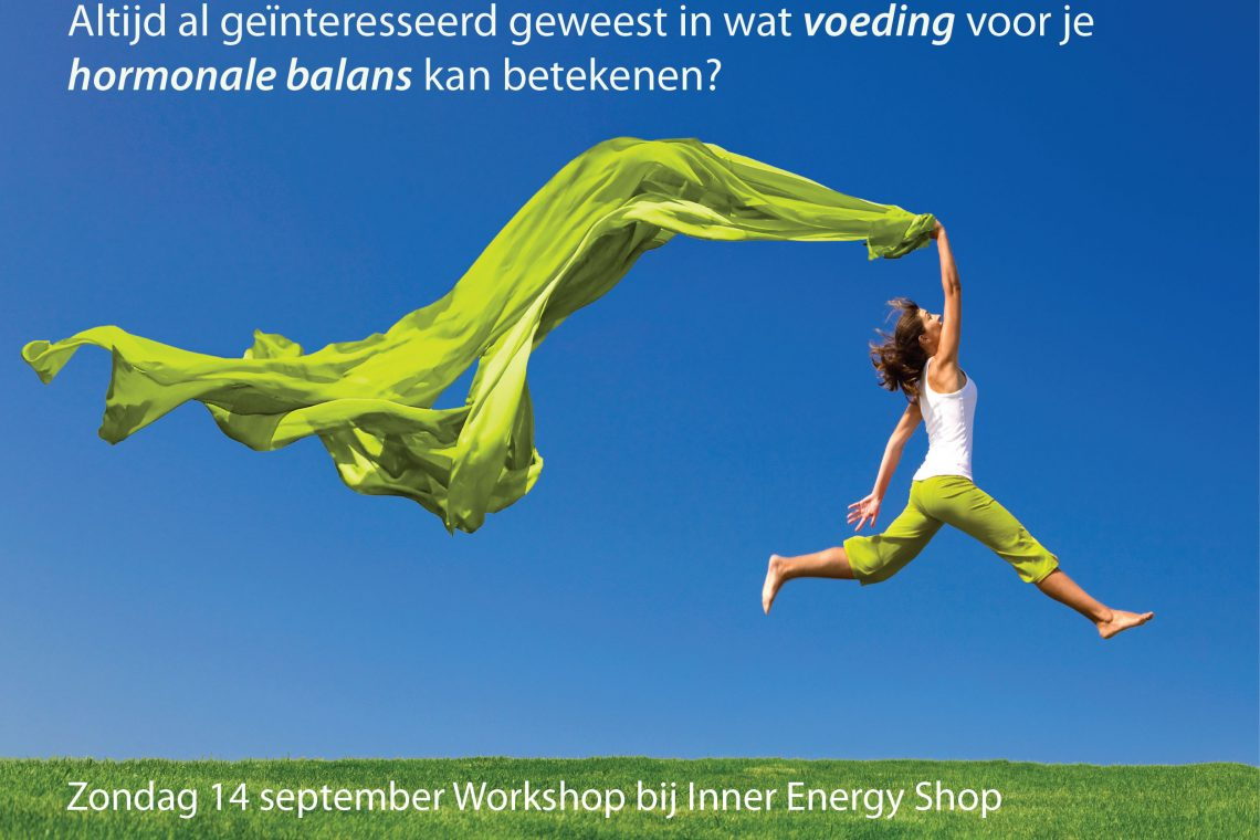 14 sept - Workshop bij Inner Energy Shop