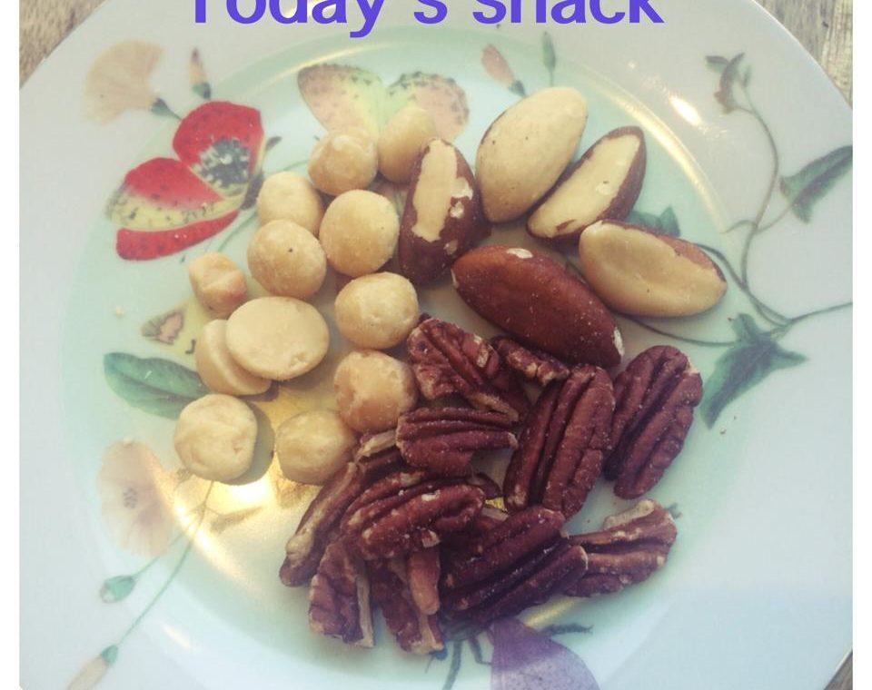 Handje noten, gezond tussendoortje