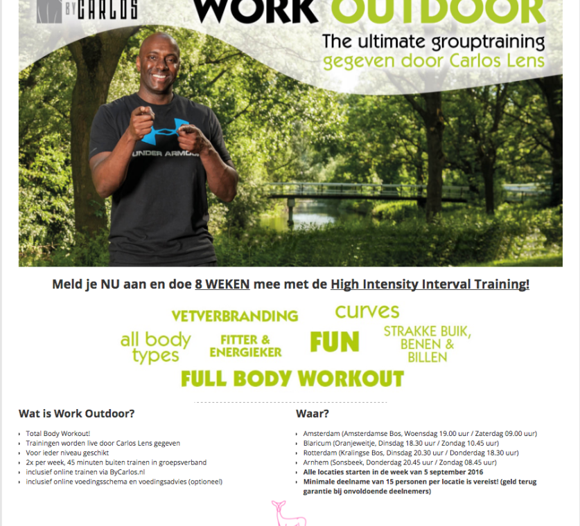 Carlos Outdoor Workout