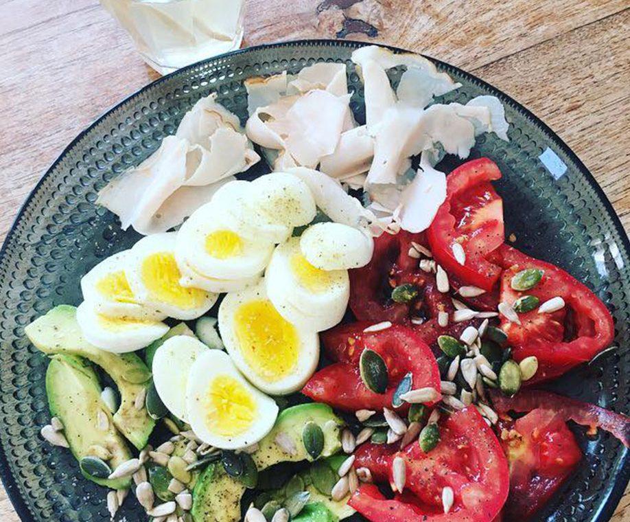 Combineer eiwitten met vetten en groenten